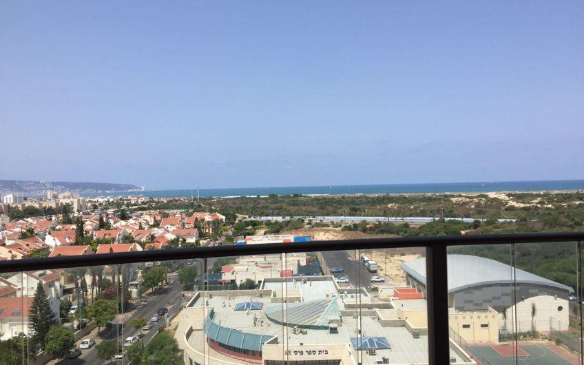 קרית ים רחוב אילנות דירת 4 חדרים נוף לים!!!