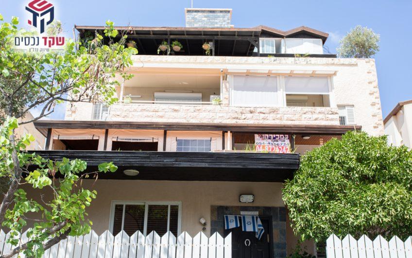 קרית חיים המזרחית ברחוב בילנסון קרקע 5 חדרים